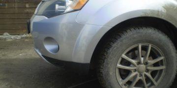 Ремонт бампера Mitsubishi Outlander XL