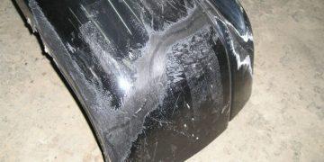 Ремонт заднего бампера ВАЗ 2110