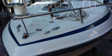 Ремонт моторной яхты