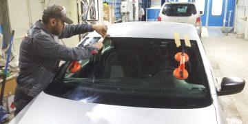 Замена лобового стекла Wolkswagen Polo